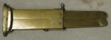 All Brass Casing Pantographic Folding Paratrooper Knife - 1 of 4