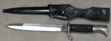 German WWII Mauser K98 Dress Bayonet & Scabbard * WKC Blade - 2 of 3