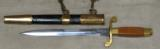 1952 Russian Soviet Air Force / Army Parade Dress Dagger * Has Scabbard / Belt / Hangers - 4 of 8