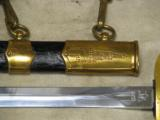 1952 Russian Soviet Air Force / Army Parade Dress Dagger * Has Scabbard / Belt / Hangers - 2 of 8