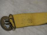 1952 Russian Soviet Air Force / Army Parade Dress Dagger * Has Scabbard / Belt / Hangers - 8 of 8