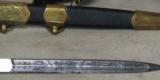 2004 Dated Russian Navy Parade Dress Dagger * Has Scabbard / Belt & Hangers - 6 of 9