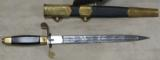 2004 Dated Russian Navy Parade Dress Dagger * Has Scabbard / Belt & Hangers - 2 of 9