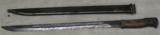 Japanese Arisaka Bayonet & Scabbard- 1 of 3