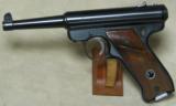 Ruger Mark 1 Semi-Auto Pistol .22 LR Caliber S/N 222222