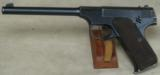 Colt Woodsman .22 LR Caliber Pistol Early S/N 75282