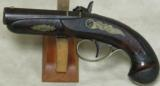 Henry Deringer Percussion Medium Sized Pocket Pistol Circa 1848-1850