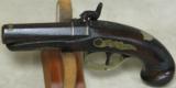 Henry Deringer Percussion Medium Sized Pocket Pistol Circa 1848-1850 - 2 of 12