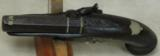 Henry Deringer Percussion Medium Sized Pocket Pistol Circa 1848-1850 - 4 of 12