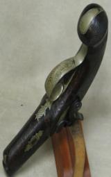 Henry Deringer Percussion Medium Sized Pocket Pistol Circa 1848-1850 - 10 of 12
