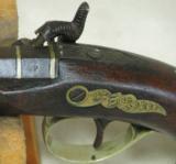Henry Deringer Percussion Medium Sized Pocket Pistol Circa 1848-1850 - 3 of 12