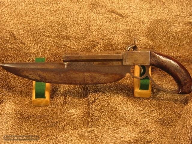 "C.S. Navy Cutlass Pistol with 11"" Bowie Blade - 10 of 10"
