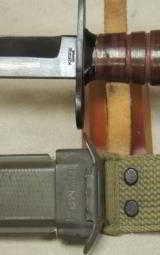 U.S. M4 Fighting Knife Bayonet & U.S. M8A1 Scabbard * Kiffe Japan - 2 of 3