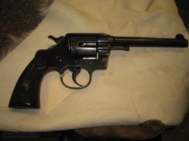 Colt Army Special 38 Revolver .38 Special Caliber S/N 404645 - 3 of 7