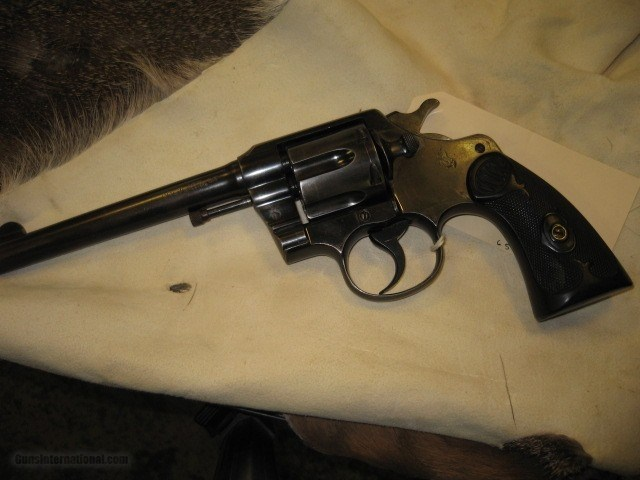 Colt Army Special 38 Revolver .38 Special Caliber S/N 404645 - 2 of 7