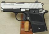 Sig Sauer P938 AG 9mm Caliber Pistol S/N 52A038647 - 1 of 4