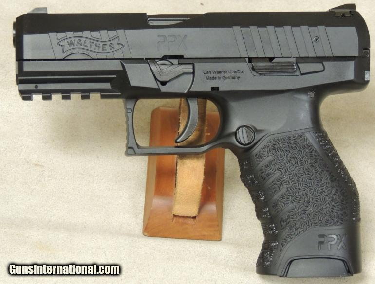 Walther PPX 9mm Caliber Pistol S/N FAM2528