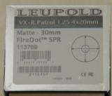 Leupold VX-R Patrol 1.25-4x20mm FireDot Reticle Illuminated Tactical Riflescope - 3 of 4