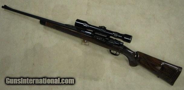 custom mauser sporter 270 caliber rifle s n 2