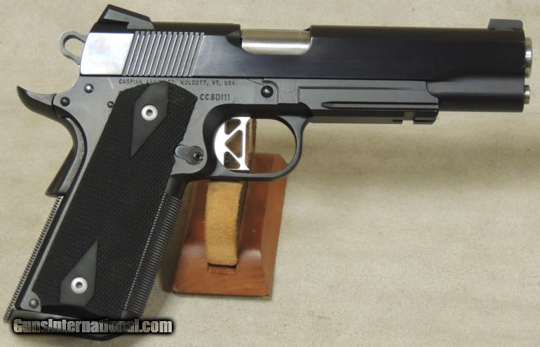 Custom Caspian Frame 1911 9mm Caliber Pistol S/N CCSD111