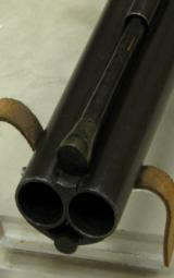 1800 Tatham & Egg O/U Flintlock Shotgun w/ Sliding Bayonet * Makers Registered To The King Of England - 3 of 13