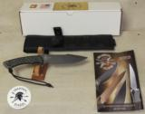 Spartan Blades Horkos Combat / Utility Knife & Molle Sheath NIB - 1 of 6