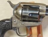 Colt 1st Gen 1873 Single Action Army .38 WCF Caliber Revolver S/N 297569 - 4 of 6