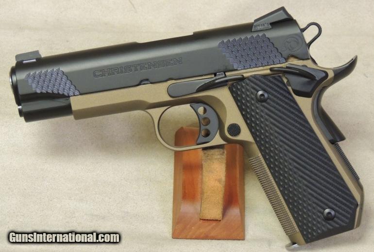 Christensen Arms 1911 Commander Titanium Frame .45 ACP Target Pistol ...
