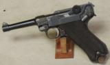 DWM German Luger WWI 9mm Caliber Pistol S/N 3211