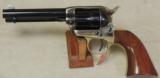 Uberti 1873 Stallion Brass Frame .22 LR / Magnum Revolver NIB S/N U14757