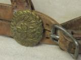 WWI Japanese Military Horse Bridle - 4 of 6