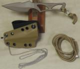 Spartan Blades Enyo Inside Waist Band / Neck Knife EDC * NIB Flat Dark Earth - 4 of 4