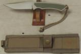 Spartan Blades Phrike Knife With G10 Scales & Molle Sheath * NIB Flat Dark Earth - 3 of 4