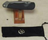 Spartan Blades Akribis Folding Knife NIB * G10 Black on Black - 2 of 6