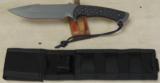 Spartan Blades Ares Fighter/Combat Knive NIB * Black & Black Micarta Scales - 5 of 5