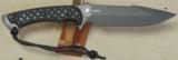 Spartan Blades Ares Fighter/Combat Knive NIB * Black & Black Micarta Scales - 2 of 5