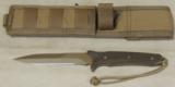 Spartan Blades Breed Fighter Dagger & Molle Sheath NIB * Flat Dark Earth - 4 of 9