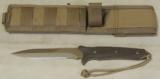 Spartan Blades Breed Fighter Dagger & Molle Sheath NIB * Flat Dark Earth - 3 of 9