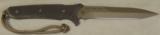 Spartan Blades Breed Fighter Dagger & Molle Sheath NIB * Flat Dark Earth - 1 of 9