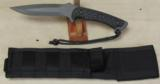 Spartan Blades Horkos Combat / Utility Knife NIB * Black With Micarta Scales - 1 of 4