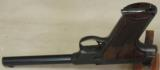 Colt Woodsman Targetsman .22 LR Caliber Pistol S/N 191741-C - 5 of 5