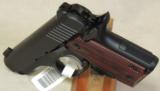 Kimber Micro Carry Rosewood LG .380 ACP Caliber Pistol NIB S/N M0009231 - 3 of 5