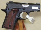 Kimber Micro Carry Rosewood LG .380 ACP Caliber Pistol NIB S/N M0009231 - 2 of 5