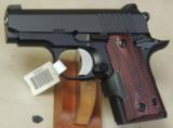 Kimber Micro Carry Rosewood LG .380 ACP Caliber Pistol NIB S/N M0009231 - 1 of 5