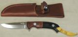 Nighthawk Custom / Keith Murr Model 375 knife & Leather Sheath NEW - 5 of 5