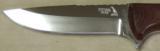 Nighthawk Custom / Keith Murr Model 375 knife & Leather Sheath NEW - 3 of 5