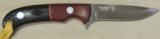 Nighthawk Custom / Keith Murr Model 375 knife & Leather Sheath NEW - 2 of 5