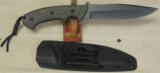 Nighthawk Custom / Keith Murr Model 550 Tactical knife & Sheath NEW - 2 of 5