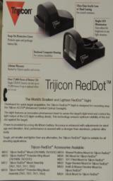 Trijicon MS03 RedDot Sight 8.0 MOA NIB - 4 of 4