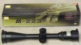Nikon M-223 4-16x42 BDC 600 Riflescope NEW - 1 of 2